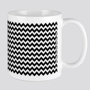 Chevron Black Mug