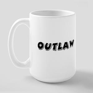 Outlaw Band Large Mug