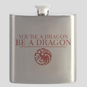 GOT You're A Dragon Flask