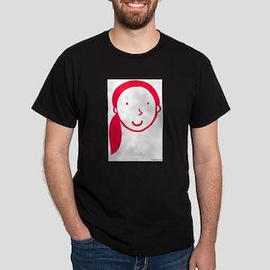 Cindy Logo (red) Dark T-Shirt