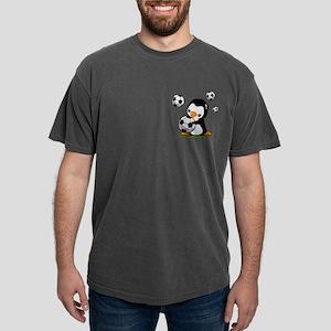 Soccer Penguin Mens Comfort Colors Shirt