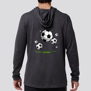 Soccer (12) Mens Hooded Shirt