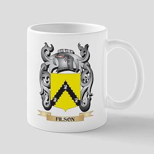 Filson Coat of Arms - Family Crest Mugs