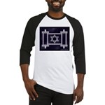 Star Of David Torah Scroll Baseball Jersey