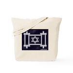 Star Of David Torah Scroll Tote Bag