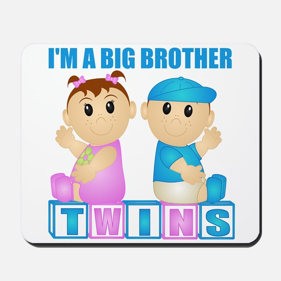 I'm A Big Brother (PBG:blk) Mousepad