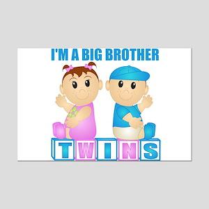 I'm A Big Brother (PBG:blk) Mini Poster Print