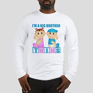 I'm A Big Brother (PBG:blk) Long Sleeve T-Shirt