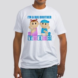 I'm A Big Brother (PBG:blk) Fitted T-Shirt