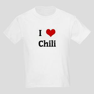 I Love Chili Kids T-Shirt