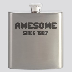 AWESOME SINCE 1987 Flask