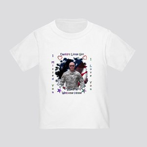 Welcome Home Daddy! Toddler T-Shirt