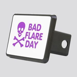 Bad Flare Day Skull and Crossbones Hitch Cover