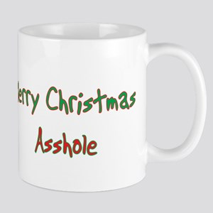 Merry Christmas Asshole Mug