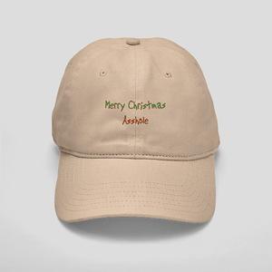 Merry Christmas Asshole Cap