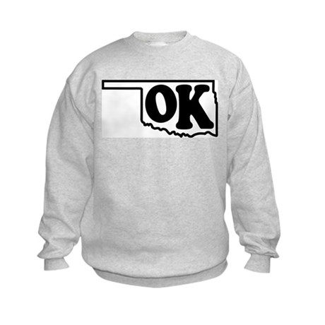 OK graphic Kids Sweatshirt