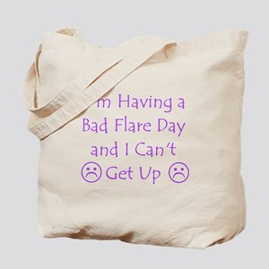 Having a Bad Flare Day Tote Bag