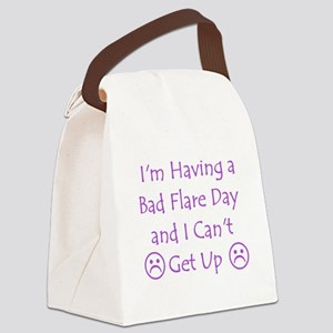 Having a Bad Flare Day Canvas Lunch Bag