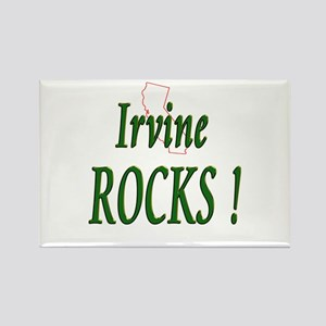 Irvine Rocks ! Rectangle Magnet