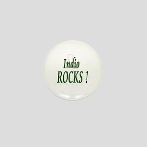 Indio Rocks ! Mini Button