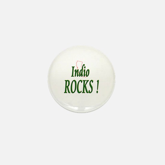 Indio Rocks ! Mini Button