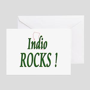 Indio Rocks ! Greeting Cards (Pk of 10)