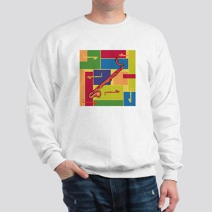 Bass Clarinet Colorblocks Sweatshirt