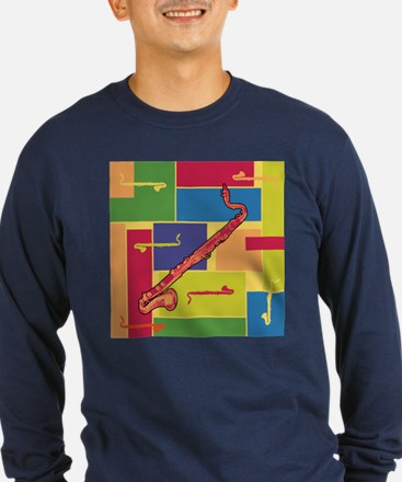 Bass Clarinet Colorblocks T