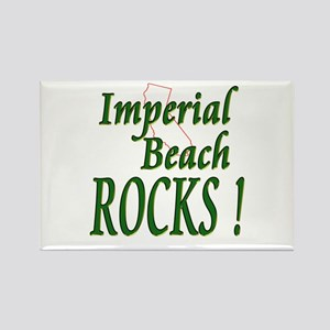 Imperial Beach Rocks ! Rectangle Magnet