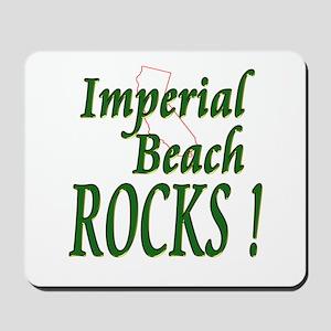 Imperial Beach Rocks ! Mousepad