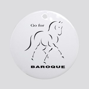 Go for Baroque Ornament (Round)