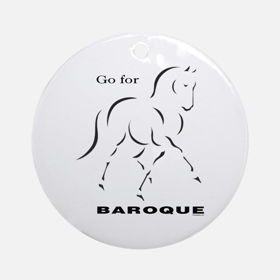 Go for Baroque Ornament (Round)