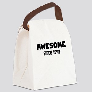AWESOME SINCE 1948 Canvas Lunch Bag