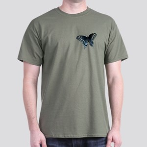 Black Swallowtail Dark T-Shirt