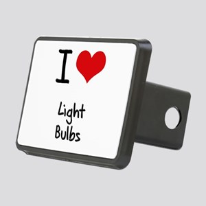 I Love Light Bulbs Hitch Cover