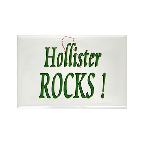 Hollister Rocks ! Rectangle Magnet (100 pack)