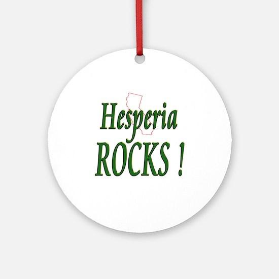 Hesperia Rocks ! Ornament (Round)