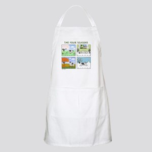 """The Four Seasons"" Grooming Apron"