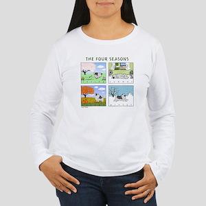 """""""The Four Seasons"""" Women's Long Sleeve T-Shirt"""