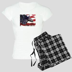 Liberty for Horses logo Women's Light Pajamas