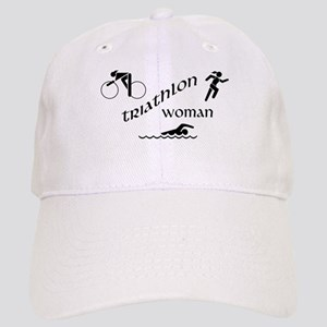 Triathlon Woman Cap