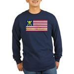 Buccaneer American Long Sleeve T-Shirt, Dark