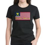 Buccaneer American Women's T-Shirt, Black