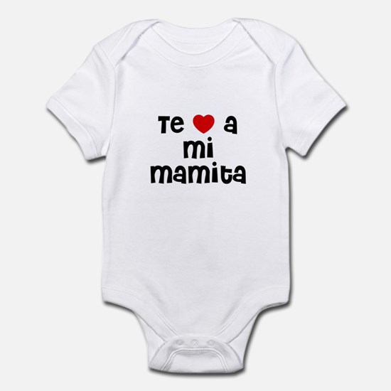 Te * a mi Mamita Infant Bodysuit