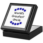 World's Greatest Uncle Keepsake Box