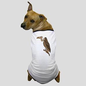 Funny Vlture Cartoon Dog T-Shirt