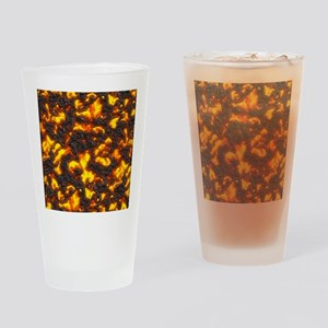Hot Lava Drinking Glass