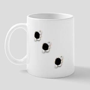 Bullet Holes Mug