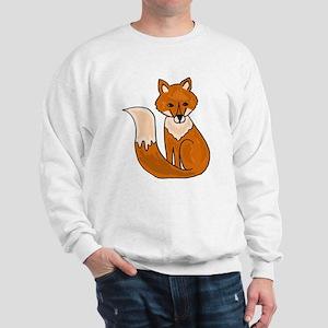 Red Fox Art Sweatshirt