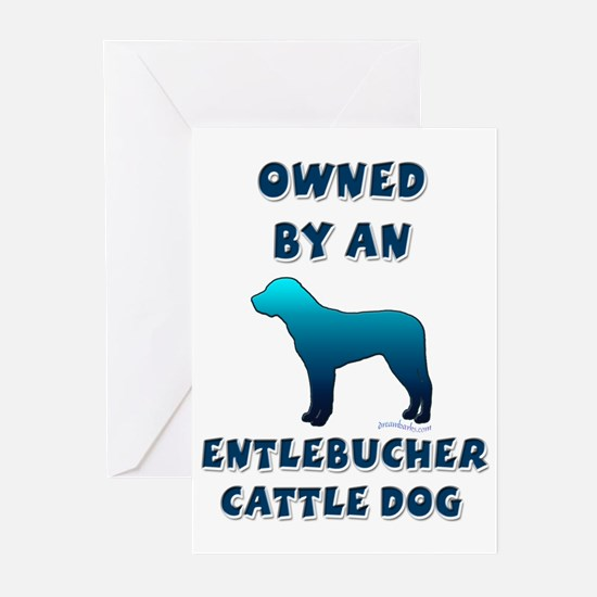 Entlebucher Silhouette Greeting Cards (Package of